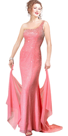 Enchanting And Bewitching Silk Chiffon Beaded Dress