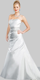 Classic Structured Bridal Outfit