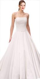 Full Skirted Strapless Bridal Gown | Wedding Dresses