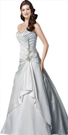 Overlapping Bridal Gown | Bridal Collection 2010