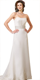Empire Waistline Bridal Gown | Wedding Dresses