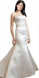 Fish Cut Strapless Bridal Gown | Bridal Gowns