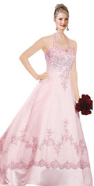 Designing With Floral Pattern Is One Of The Nice Option For Wedding Gowns