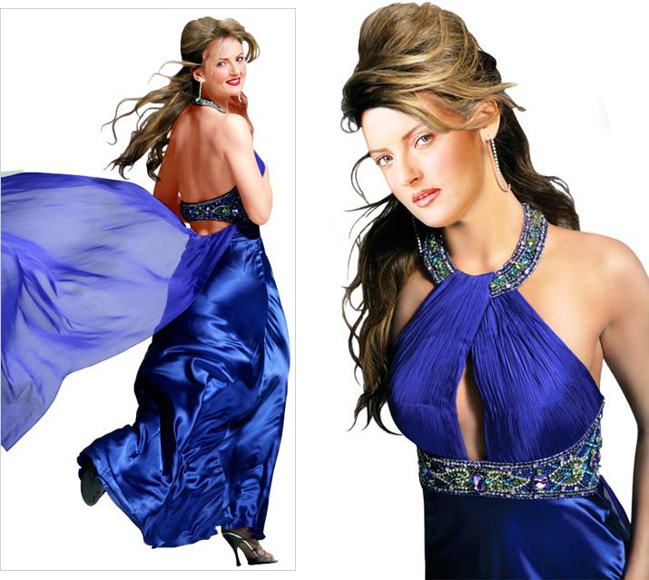 مدل لباس دخترونه خوشگل مدل  لباس مجلسی 2010