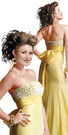 Figure Hugging Prom Dress