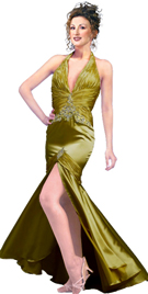 Smashing Halter Designer Gown