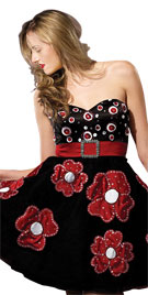 Valentines Day Dress | Strapless Dress