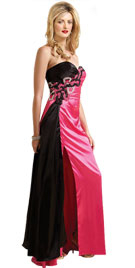 Dual Shaded Valentines Day Gown | Valentines Day Gowns