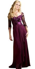 Ruching Valentines Day Gowns | Online Valentine Day Dress
