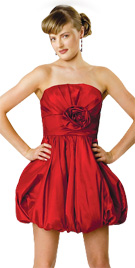 Strapless Valentines Day Dress | Red Dresses Collection 2010