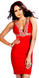 Short Fitted Valentine Day Dress | Red Color Valentine Day Dress Collection