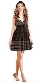 Empire Waist Xmas Short Dress | Xmas Shopping