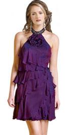 Frilled Short Christmas Dress | Christmas Dresses