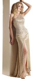One Shoulder Xmas Gown | Xmas Dresses |Xmas Shopping