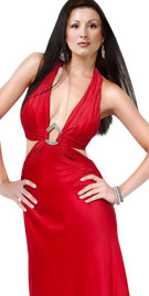 Amazing Halter Christmas Wear | Christmas Dresses