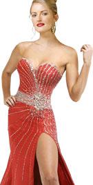 Charismatic Red Christmas Dress | Xmas Dresses