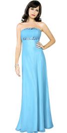 Designer Easter Dresses | Strapless Easter Gown