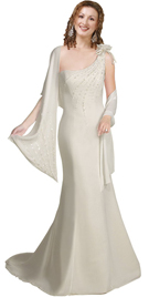 Beautiful, classic and sexy evening gown will make you centre of attraction...