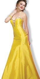 Halter Neck Beaded Evening Gown