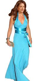 Kate Middleton Type Long Evening Dress