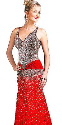 Multilayered Prom Dress