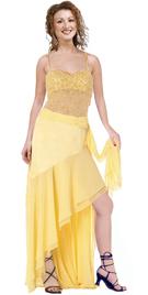 Chiffon and Net makes This Dress Simply Ravishing
