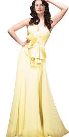 Splendid Overskirt Evening Gown | Fall Collection 2010