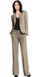Buy Online One Button Office Pant Suit | Womens Office Pant Suit