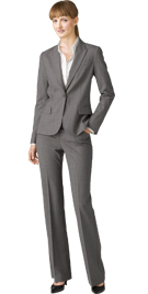 Womens Formal Pant Suit | Notch Collar Formal Pant Suit