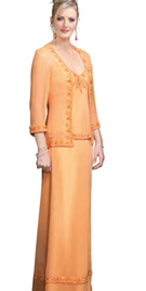 Three Piece Mother Of The Bride Dress
