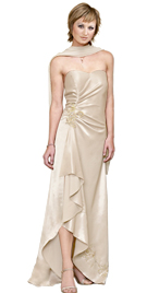 Cheap Beaded Hem Mother Of The Bride Dress