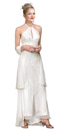 Buy Online Keyhole Designed Mother Of The Bride Dress