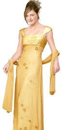 Online Ruched Bust Mother Of The Bride Dress