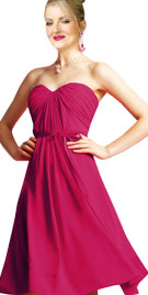 Sweetheart Neckline Strapless Dress
