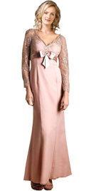 Buy V-Neckline Mother`s Day Gown | Mother`s Day Dresses
