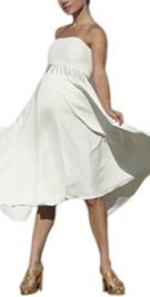 Fully Lined Maternity Dress