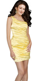 Ruched Short Prom Dress | Prom Gowns | Prom Party Dress