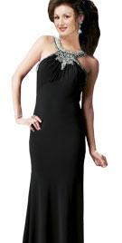 Scoop Neckline Sheath Prom Dress | Prom Dresses