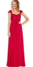 Cap Sleeve Floor Length Prom Gowns Online