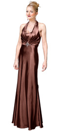 Cheap Shining Pleats Red Carpet Dress