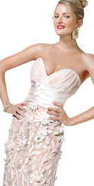 Sweetheart Neckline Red Carpet Gown | Red Carpet Dresses Collection 2010