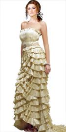 Ravishing Multi Tiered Dress | Red Carpet Dresses