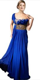 Opulent One Shoulder Dress | Red Carpet Dresses