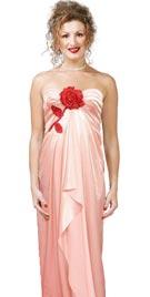 Natalie Portman Inspired Long Red Carpet Dress