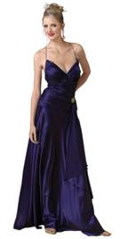 Sweetheart Neckline Spring Gown
