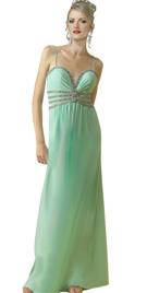 Romantic Beaded Evening Dress
