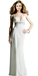 Outstanding Full Length Summer Gown
