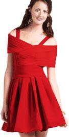 Attractive Short Spring Dress