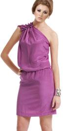 Fantastic One Shouldered Short Dress