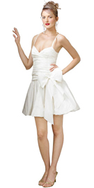 Wear this magical little number in chaste color and make a move for a party